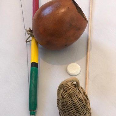 בירימבאו ילדים קומפלט עם קאשישי פדרה ובקטה -עבודת יד - זום זום חנות קפוארה