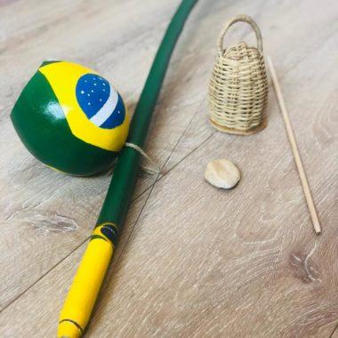בירימבאו דגל ברזיל עבודת יד - זום זום