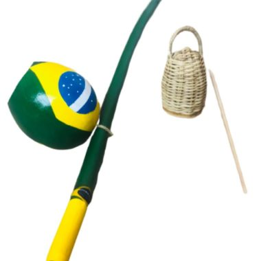 בירימבאו ברזילרו - דגל ברזיל - עבודת יד לפי הזמנה
