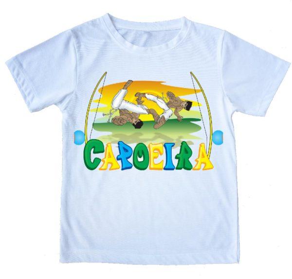 חולצת קפוארה קרב לוהט 100 אחוז כותנה