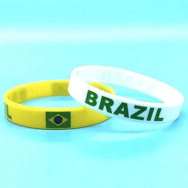 צמיד סיליקון דגל ברזיל