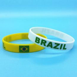 זוג צמידי ברזיל מסיליקון
