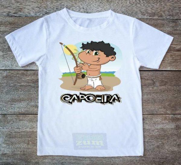 חולצת קפוארה - Capoeira Boy - זום זום חנות קפוארה