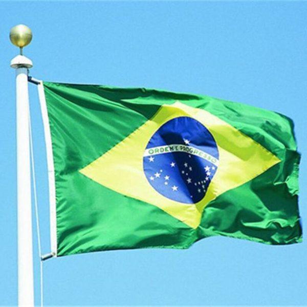 דגל ברזיל ענק - זום זום חנות קפוארה
